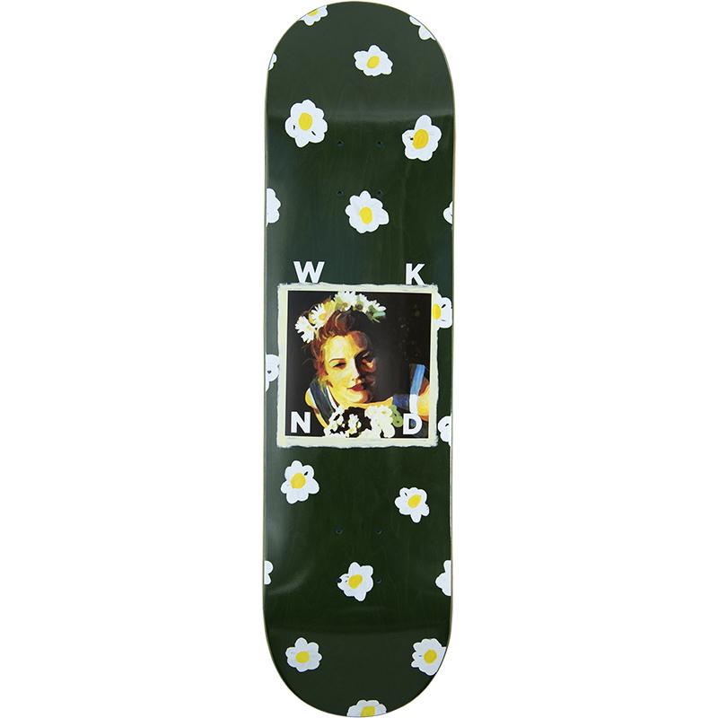 WKND DB Babe Skateboard Deck Green 8.25