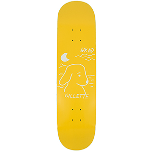 WKND Gillette Cool Breeze Pro Skateboard Deck Gold 8.18