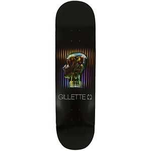 WKND Gillette Glow Pro Skateboard Deck Black 8.5