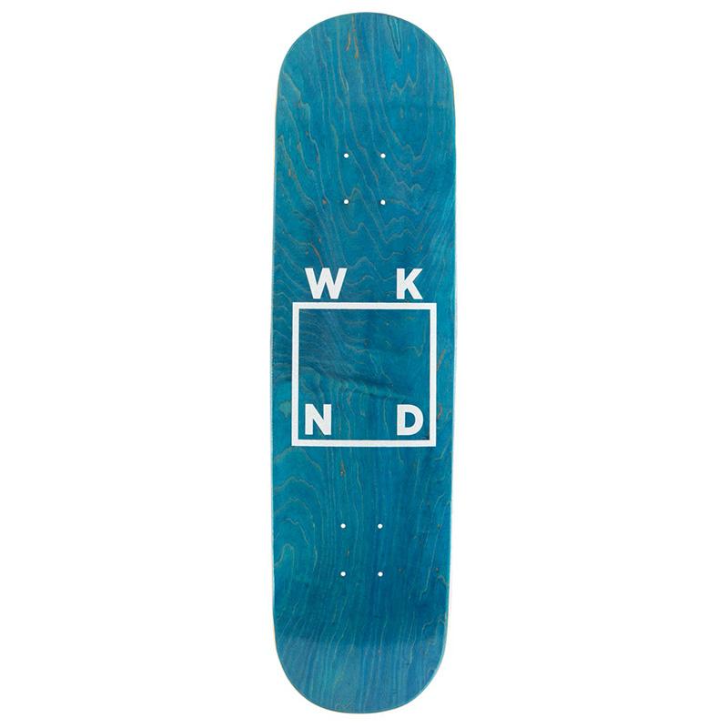 WKND Glitter Logo Skateboard Deck Veneer 8.5