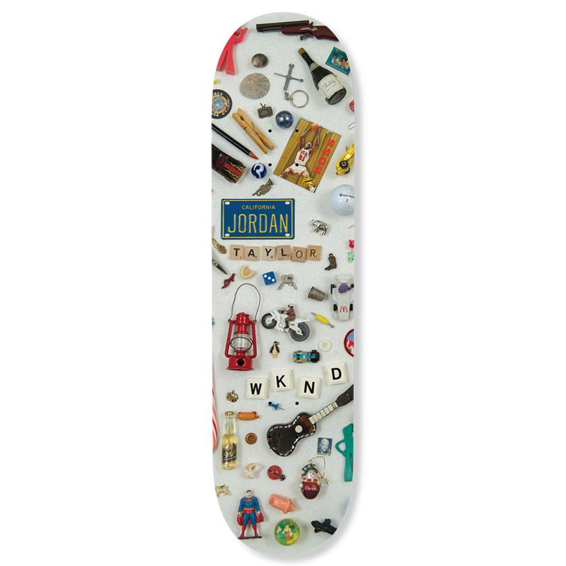 WKND I Spy Jordan Skateboard Deck 8.25