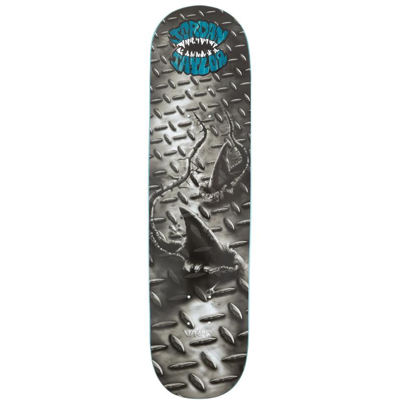 WKND Jordan Taylor Street Shark Skateboard Deck 8.25