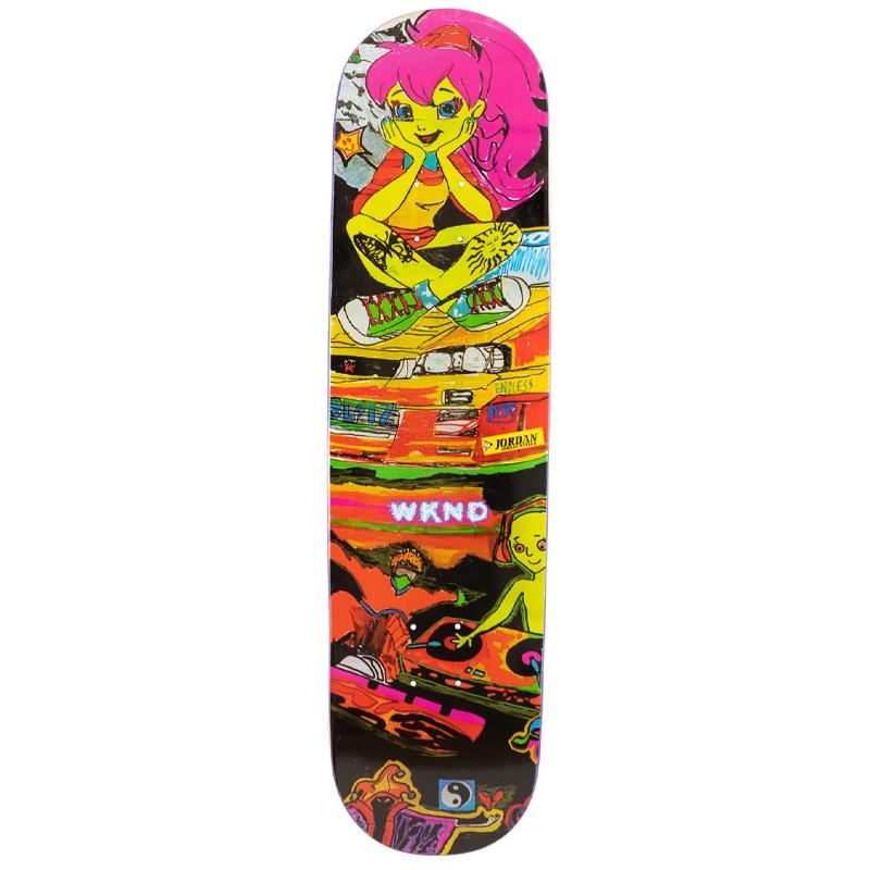 WKND Jordan Taylor Sympathy Dropout Skateboard Deck 8.25