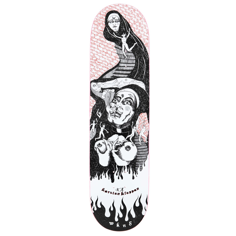 WKND Karsten Kleppan Sister Sin Skateboard Deck 8.375