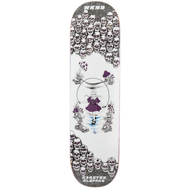 WKND Karsten Kleppan Skippin Skateboard Deck 8.375