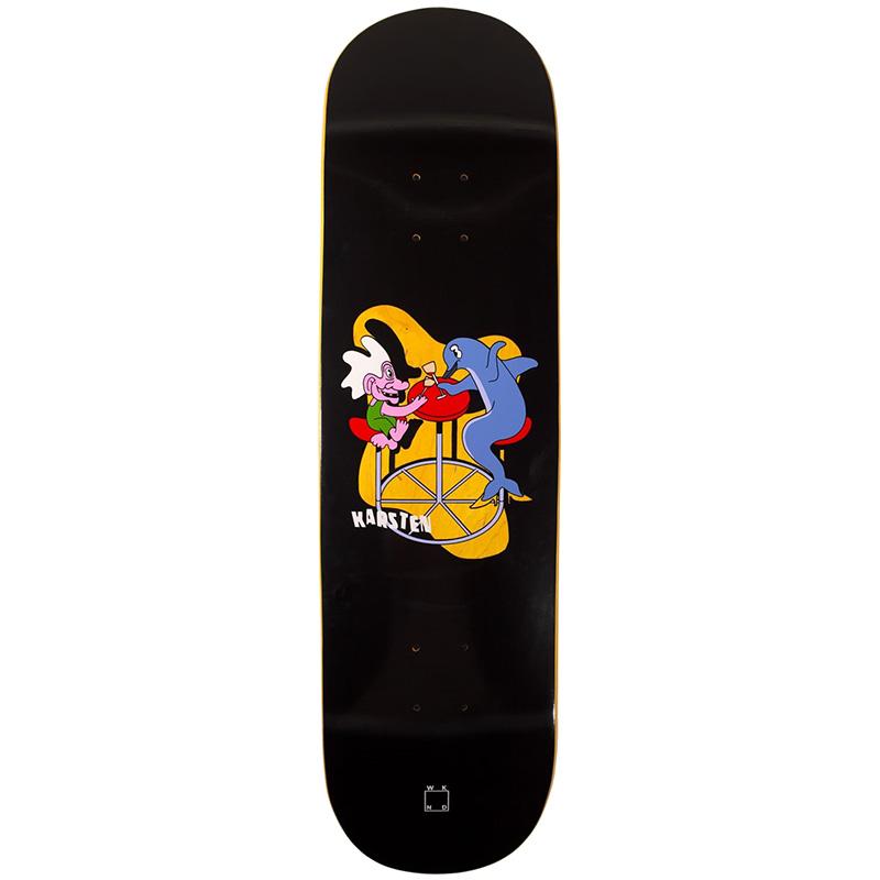 WKND Karsten Troll Toll Skateboard Deck Black 8.0