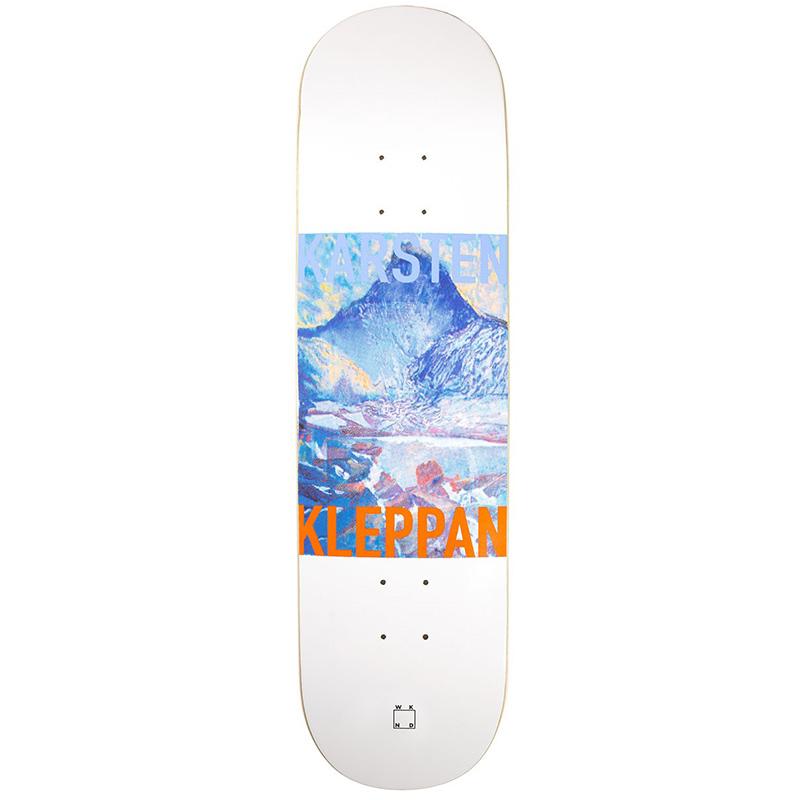 WKND Karsten Uncle Geir Skateboard Deck White 8.25