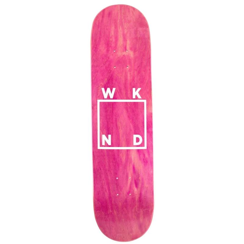 WKND Logo Assorted Veneers Skateboard Deck 8.25
