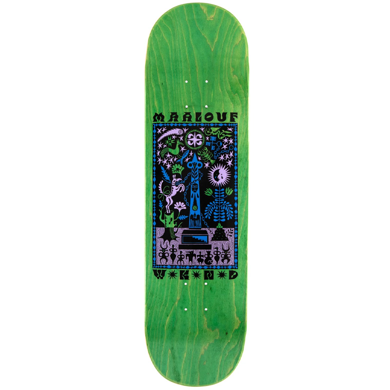 WKND Miracle Christian Maalouf Skateboard Deck 8.125