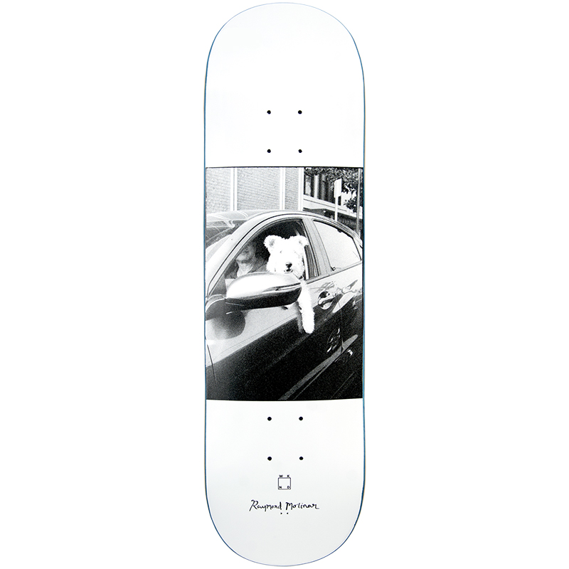 WKND Molinar Doggystyle Skateboard Deck White 8.0