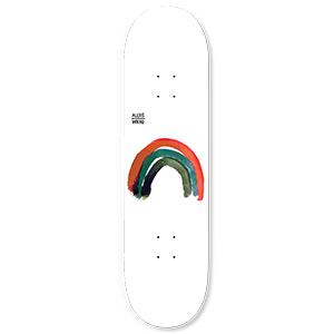 WKND Rainbow Alexis Skateboard Deck 8.0