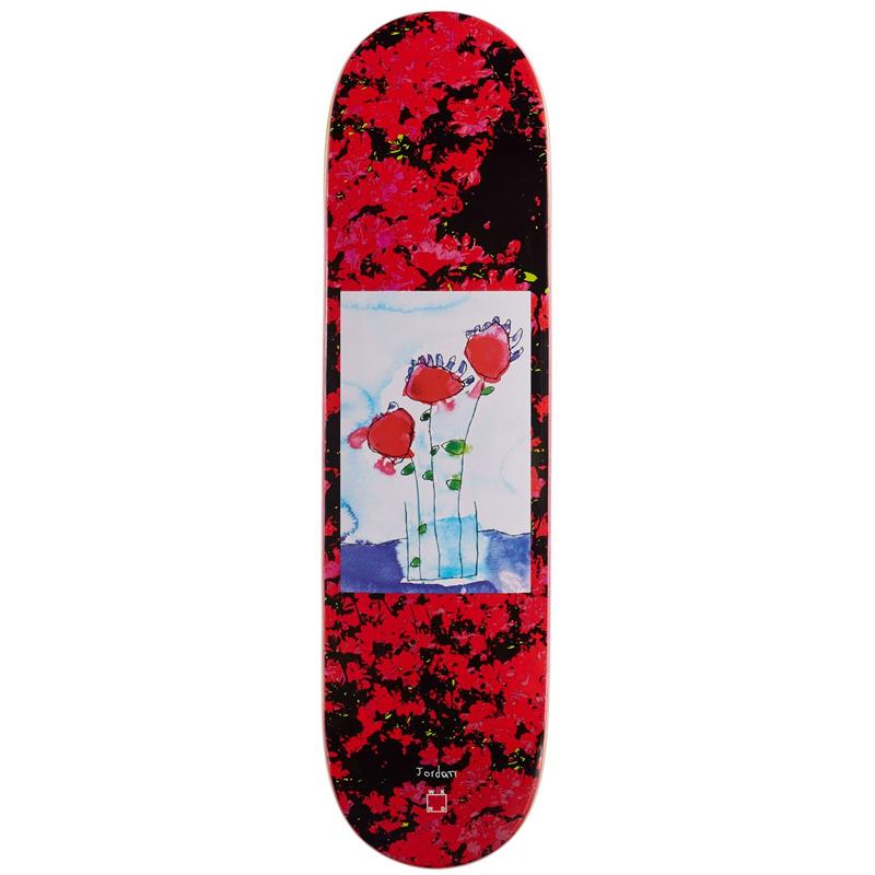 WKND Roses Are Red Jordan Taylor VA Shape Skateboard Deck 8.25