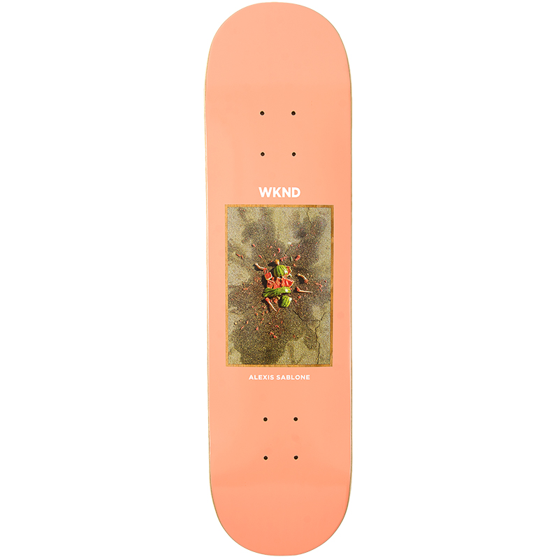 WKND Sablone Doll Parts Melon Murde Skateboard Deck 8.25