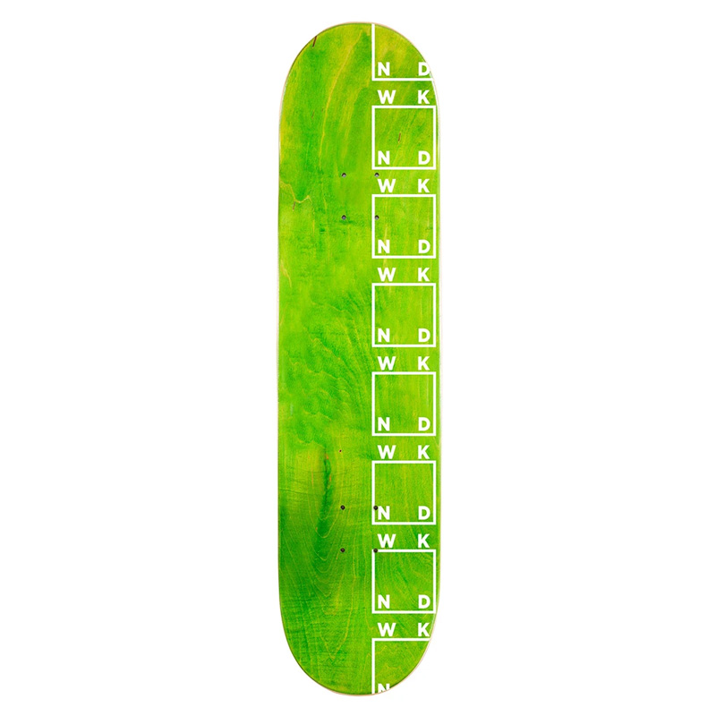 WKND Side Logo Skateboard Deck Assorted Veneers 8.38