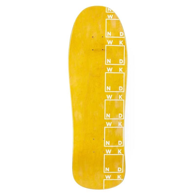 WKND Side Logo Skateboard Deck Assorted Veneers 9.875