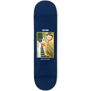 WKND Stuckey Doll Parts Trumpet Boy Skateboard Deck 8.0