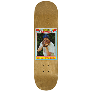 WKND Stuckey Rookie Card Pro Skateboard Deck Wood 8.0