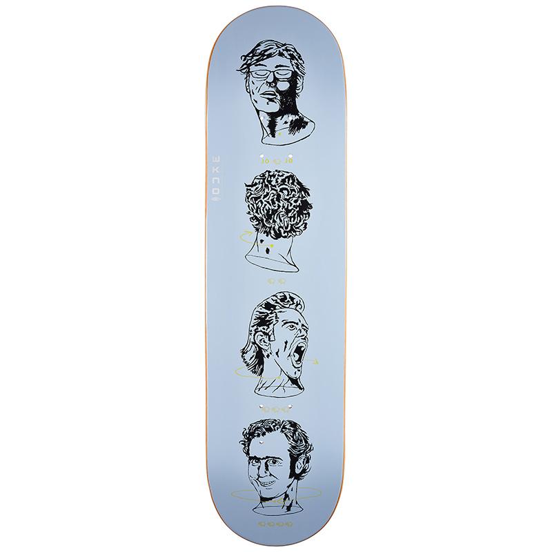 WKND Stucky Dreams And Nightmares Jojo, Jim and Andy Skateboard Deck 8.0