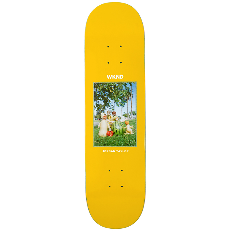 WKND Tayler Doll Parts Fruit Family Skateboard Deck 8.3