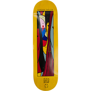 WKND Tayler Lyric Skateboard Deck Yellow 8.0