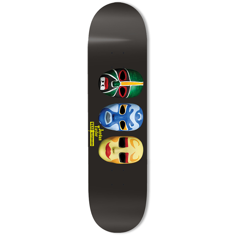 WKND Taylor Ninja Mask Skateboard Deck 8.25