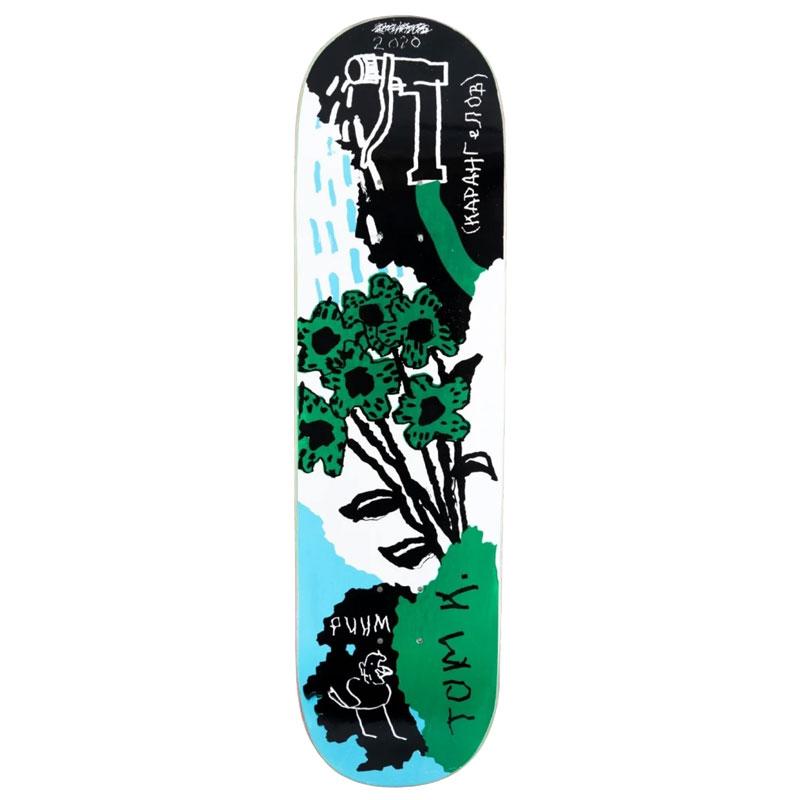 WKND Tom K Tom's Garden Skateboard Deck 8.25