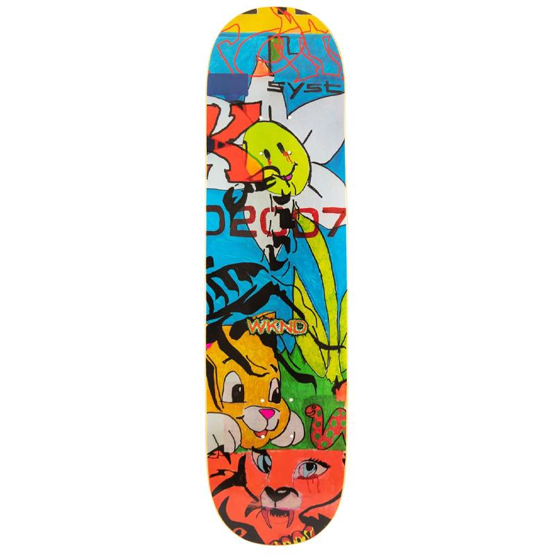 WKND Tom Karangelov Sympathy Dropout Skateboard Deck 8.375