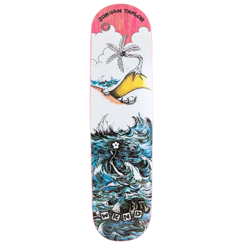 WKND Water Jordan Taylor Skateboard Deck 8.25