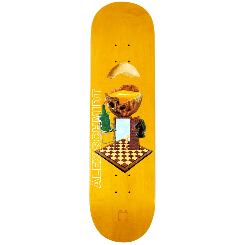 WKND With A Sunny Side Of Schmidt Skateboard Deck 8.0