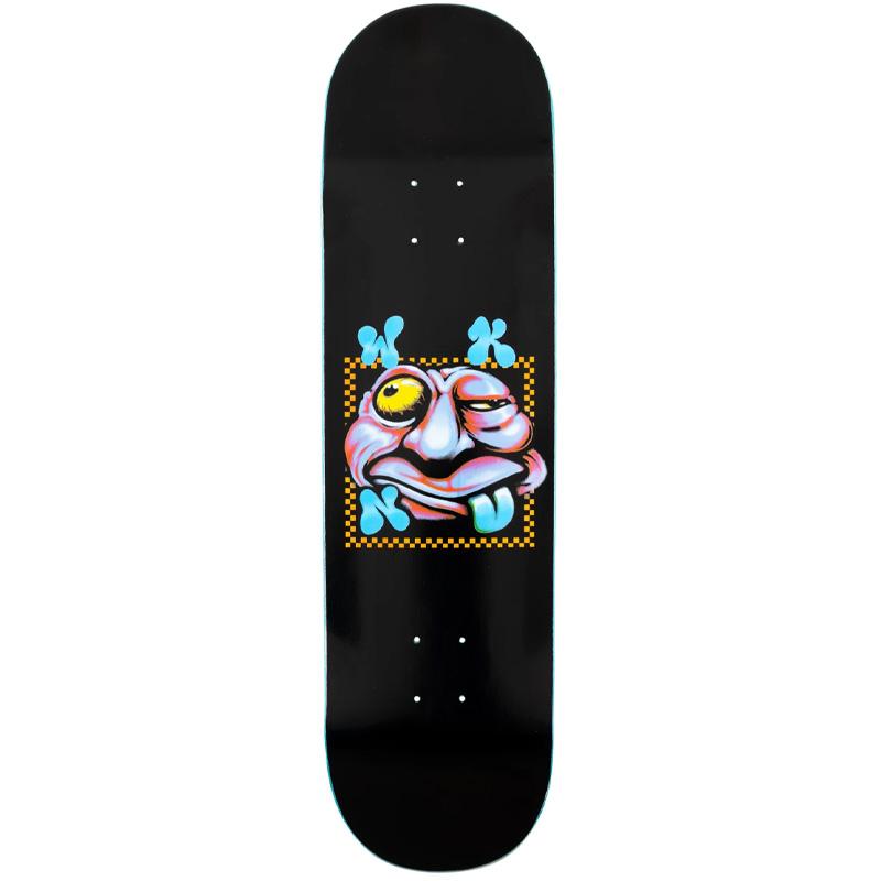 WKND Zooted Logo Skateboard Deck Black 8.0