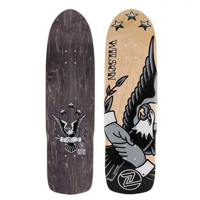 Z-Flex George Wilson Skateboard Deck 8.75