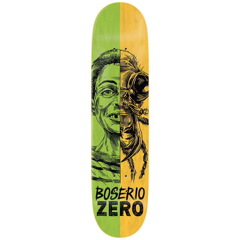 Zero Boserio Alter Ego R7 Skateboard Deck 8.375