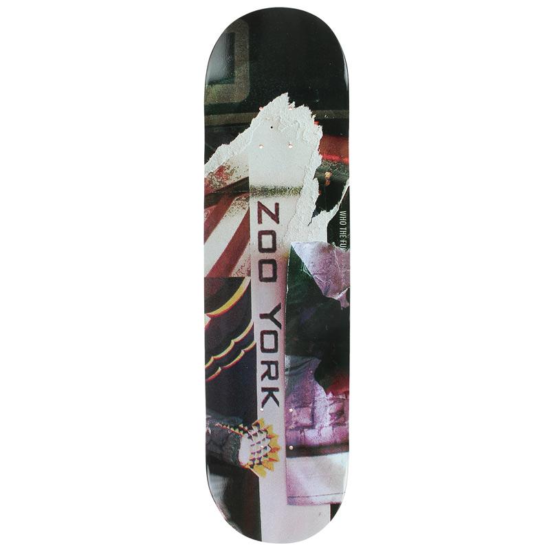Zoo York Bank Gothic Skateboard Deck 8.0