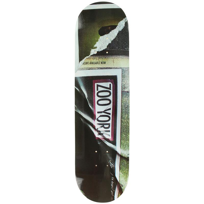 Zoo York Furtura Box Skateboard Deck 8.25