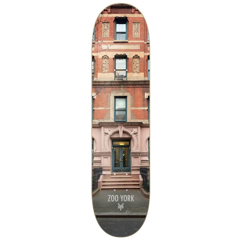 Zoo York The Hampton Skateboard Deck 8.375