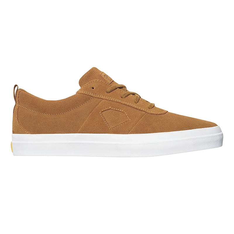 Diamond Icon Light Brown Suede