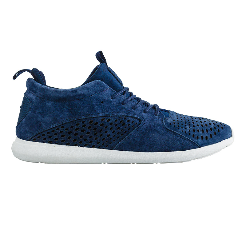 Diamond Quest Mid Navy Pig Suede
