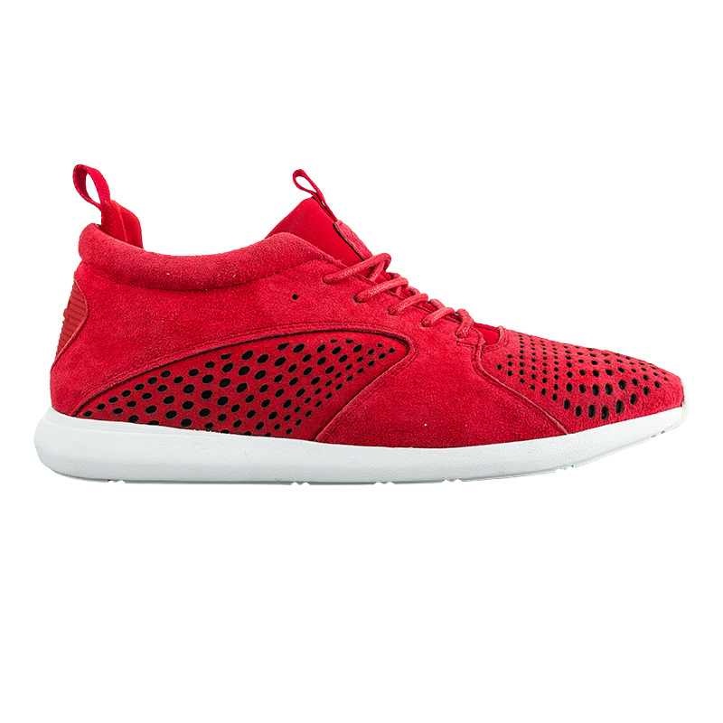 Diamond Quest Mid Red Pig Suede