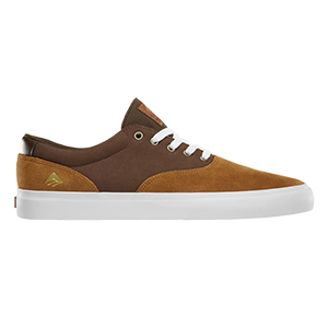 Emerica Provost Slim Vulc Tan/Brown/White