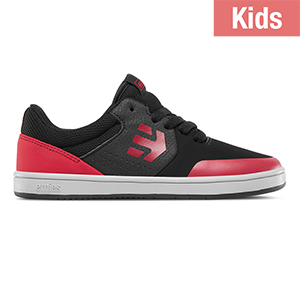 Etnies Kids Marana Black/Red/Grey