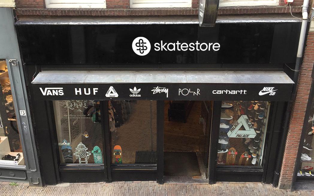 Skatestore Utrecht Bakkerstraat 11 Skatestore.nl