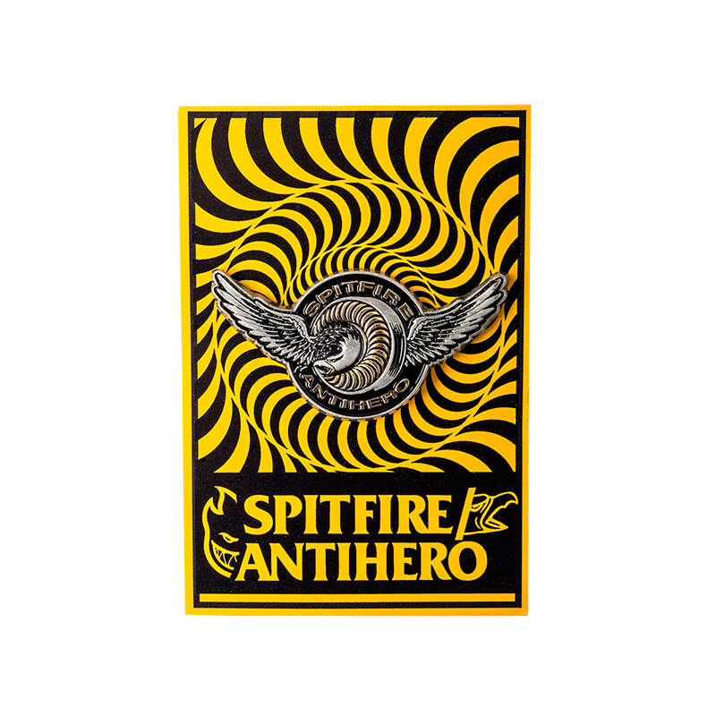 Anti Hero x Spitfire Classic Eagle Lapel Pin Antique Tin/Gold