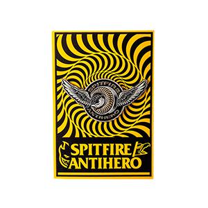 Anti Hero x Spitfire Classic Eagle Lapel Pin Antique Tin/Gold