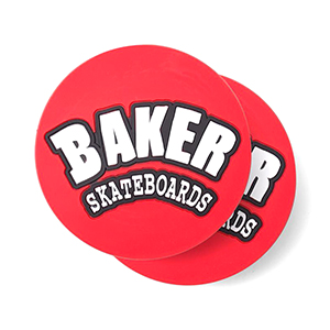 Baker Arch Logo Coasters 2pack