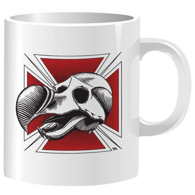 Blind Heritage Dodo Skull Coffee Mug