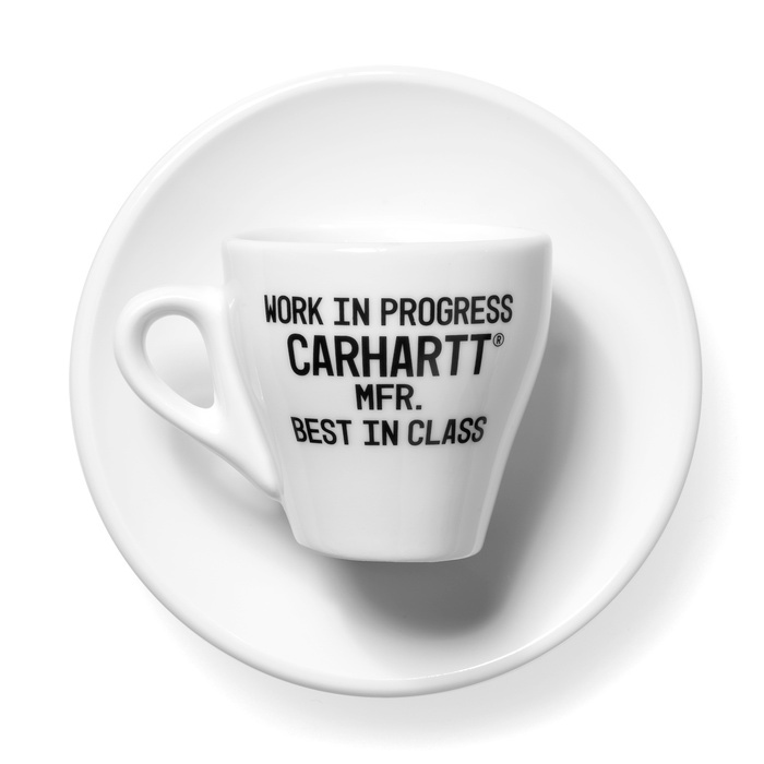 Carhartt Espresso Cups White/Black