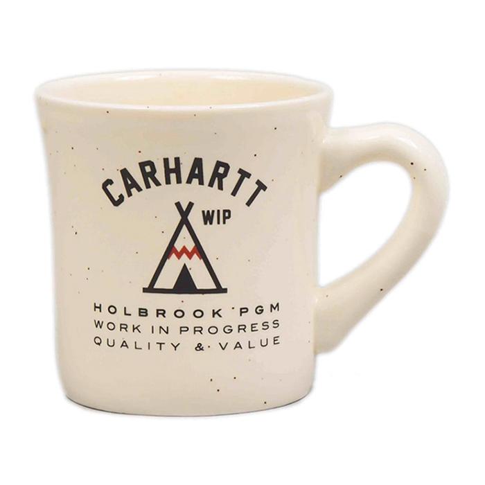 Carhartt Holbrook Diner Mug Off White/Brown speckles
