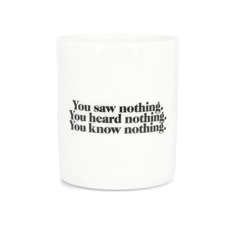 Carhartt WIP Nothing Mug White