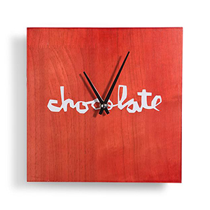 Chocolate Chunk Clock