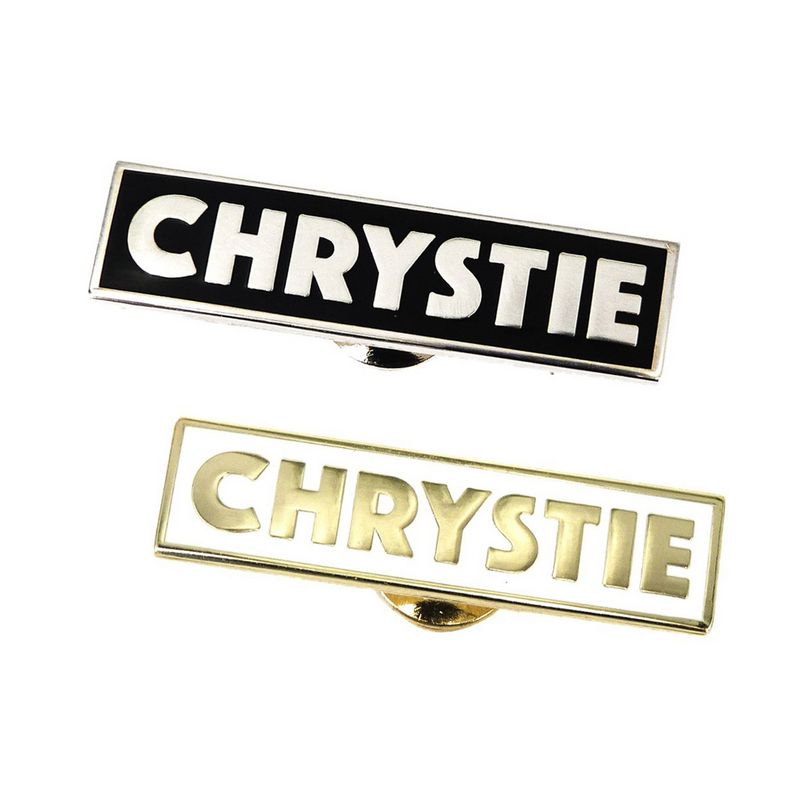 Chrystie NYC Og Logo Pin Set